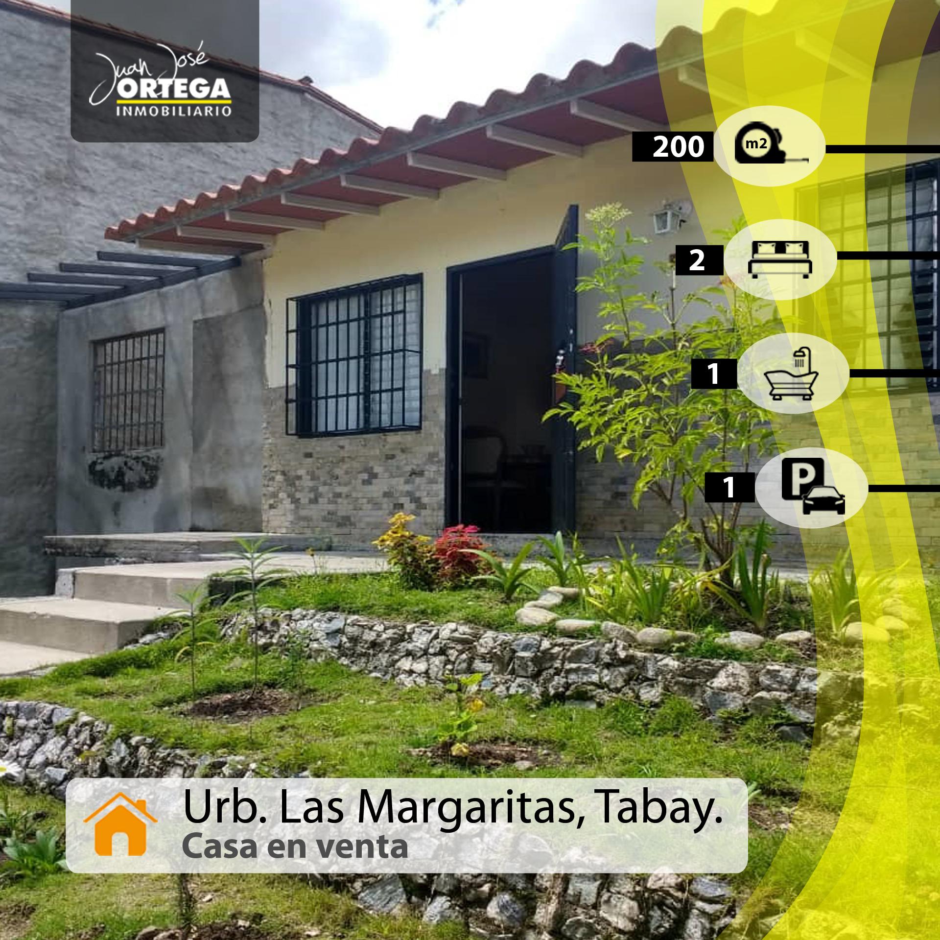 Casa en Mérida, Sector Hacienda y Vega, Urbanización Las Margaritas. Tabay