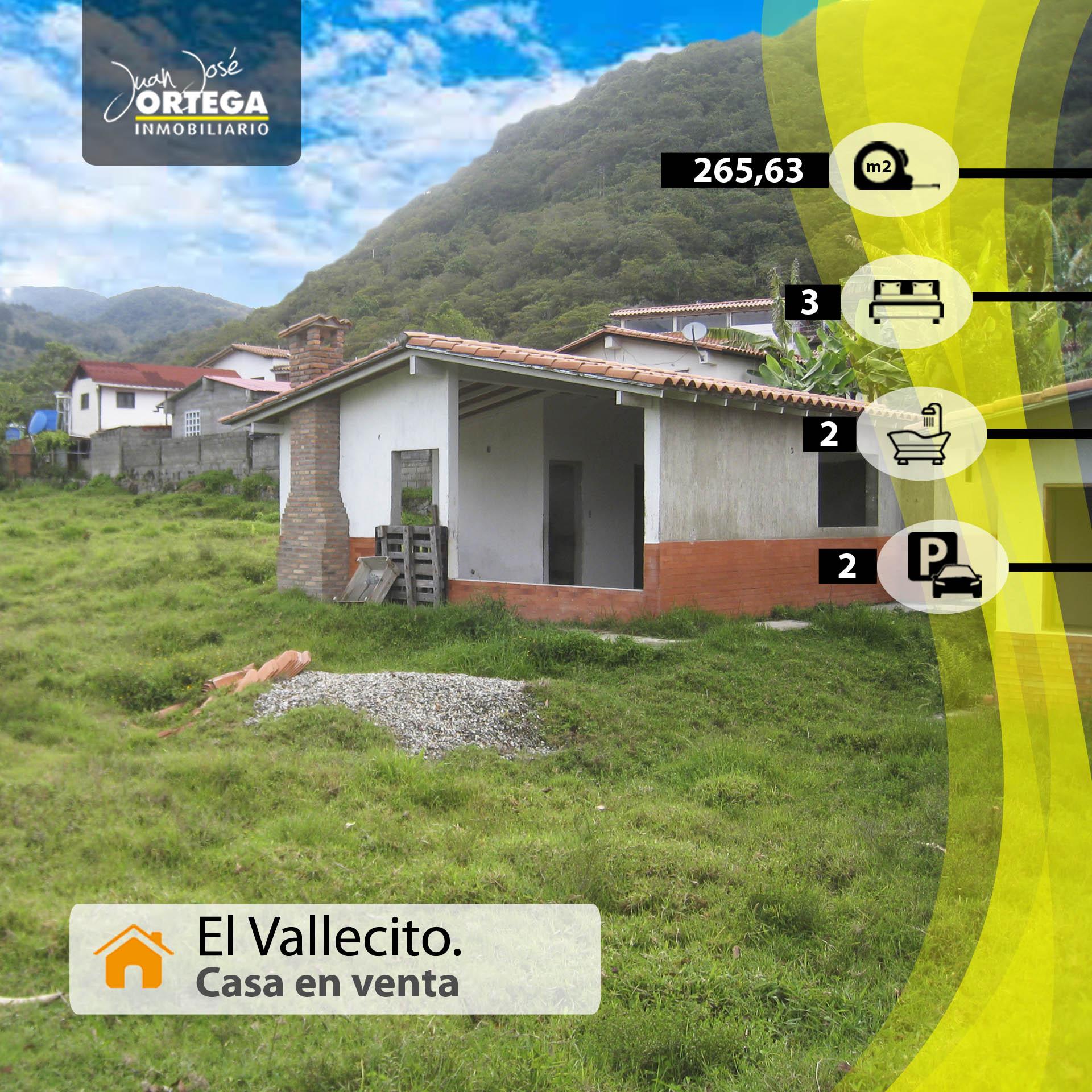 Casa en Mérida, Sector El Vallecito.